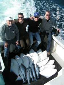 August 1st Halibut Salmon Fishing
