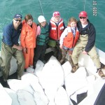 Kids with Halibut