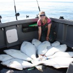 Jona with Halibut Load 9-18